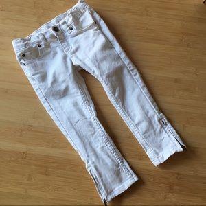 🍭Lands End pencil leg zipper jeans - 5